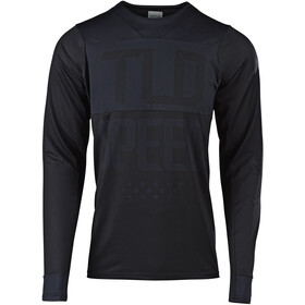 Troy Lee Designs Skyline Maillot à manches longues Homme, speedshop/black/black